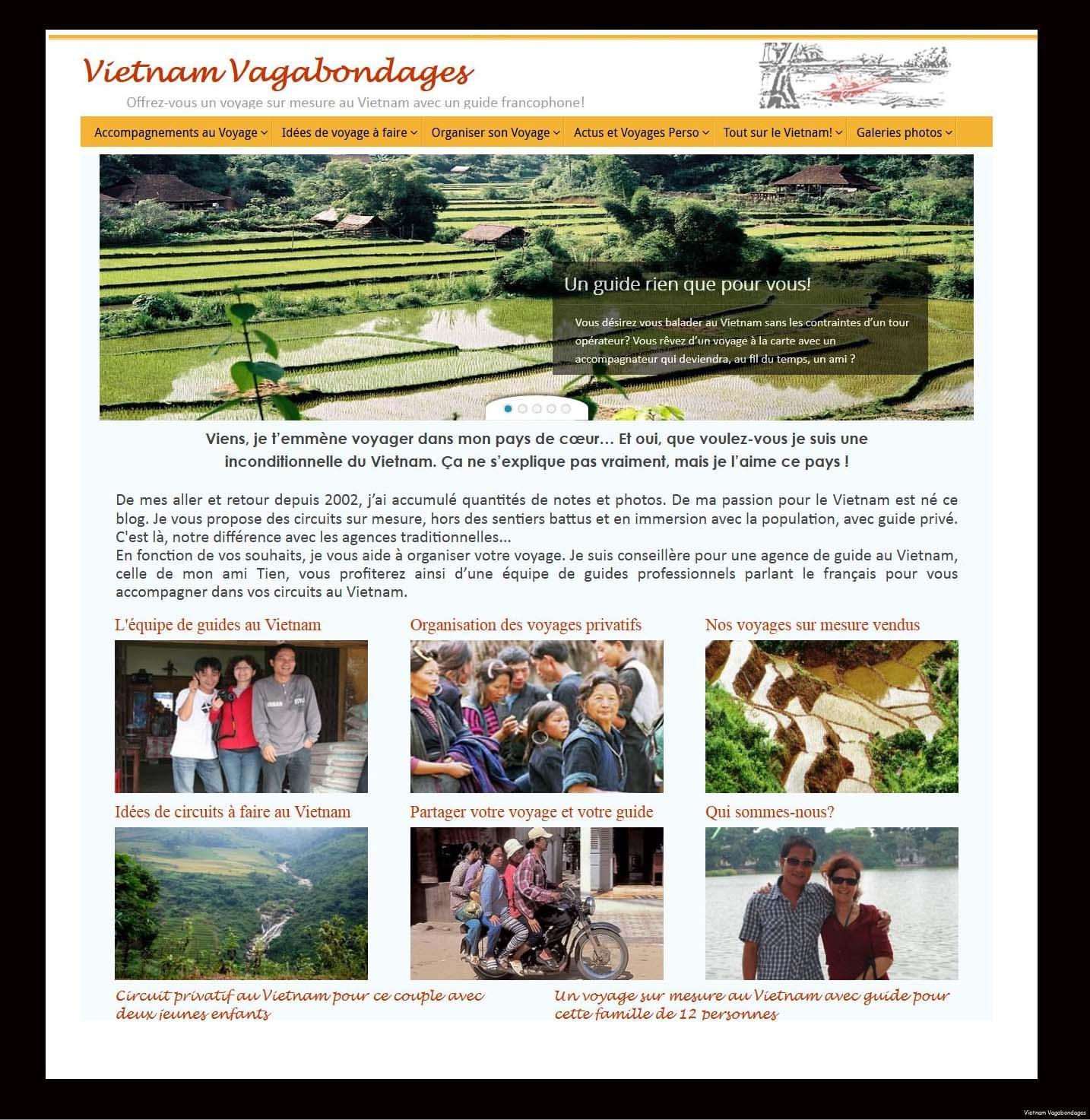 Vietnam Vagabondages Voyages sur mesure authentiques avec guide privé