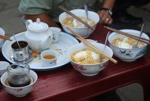circuit Quàn Ba, Yên Minh, soupe à l'oeuf