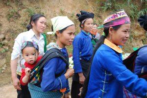 femme de Yen Minh circuit vietnam