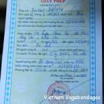 permis-circuler-ha-giang - circuit vietnam nord