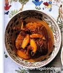 Vit Nau Cam,Canard épicé à l'orange