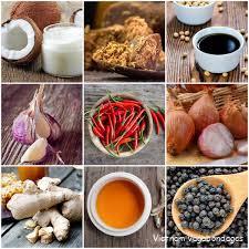 ingrédients de la cuisine vietnamienne